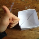 Simple Origami Boxes Storage System