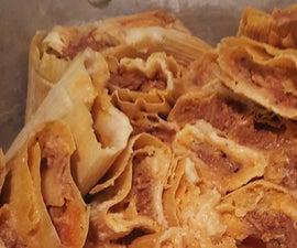 Ana's Red Pork Tamales