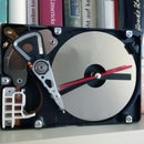Simple Hard Drive Clock