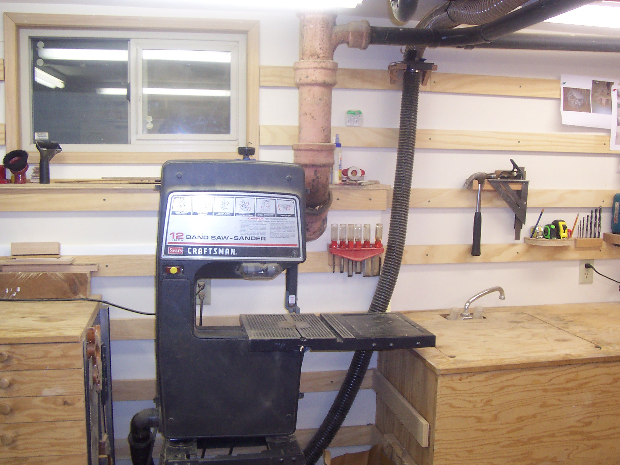 Picture of My 10 X 14 Basement Workshop