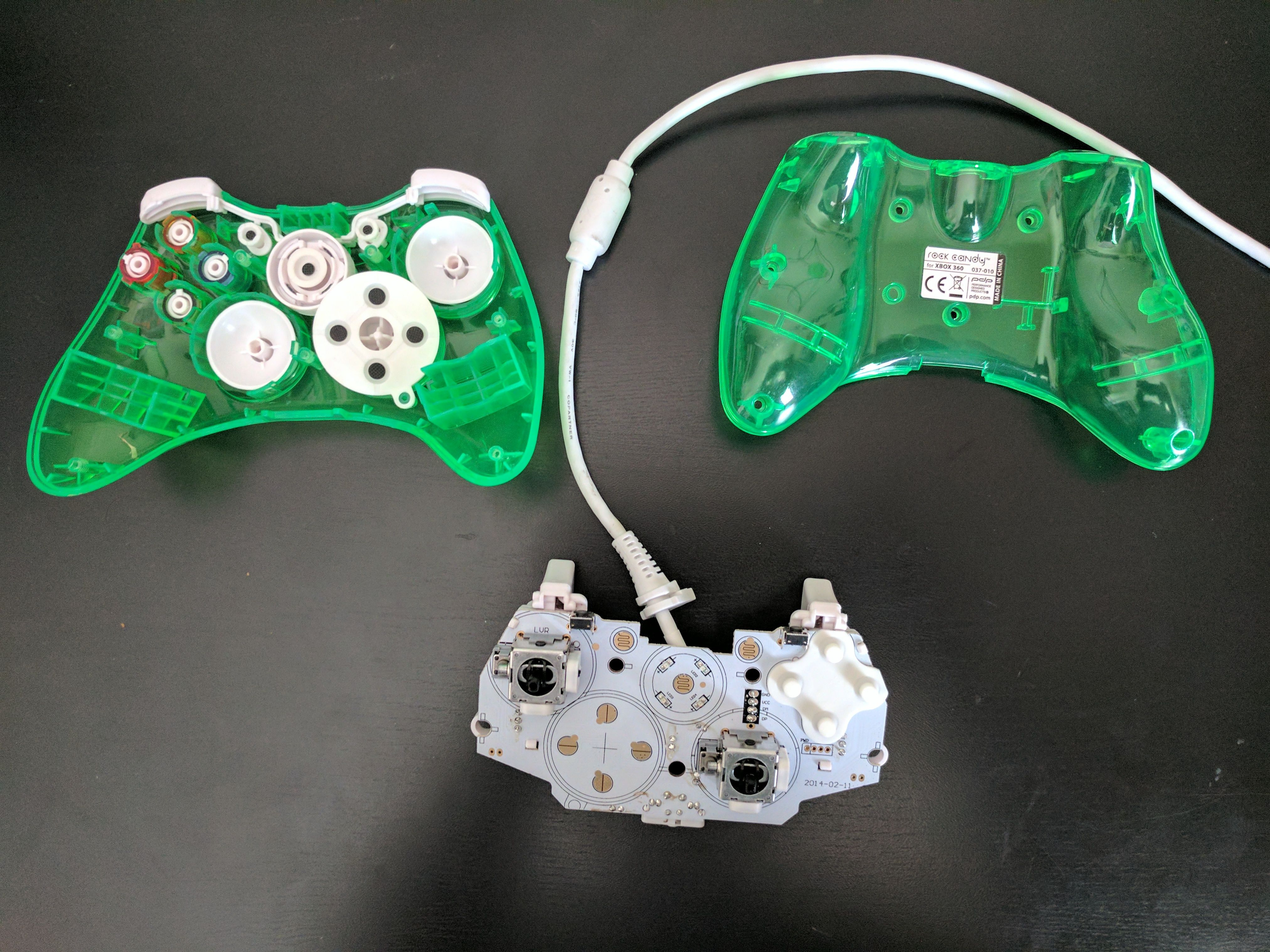 Picture of Disassemble the Controller