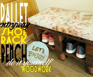 How You Can Do a Pallet Bench-shoerack Yourself - VIDEO