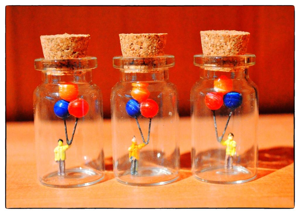 Picture of Miniature Bottle Sculptures
