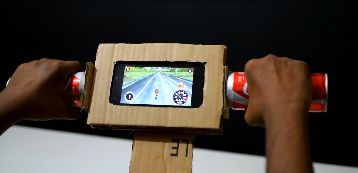 Picture of Now Your Gaming  Motorcycle Steering Is Ready to Play
