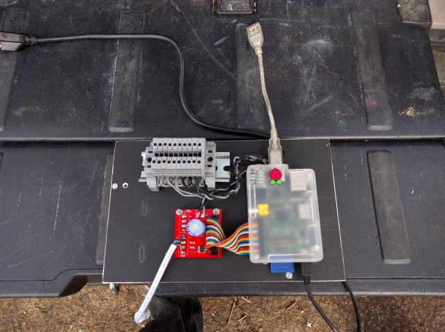 Picture of Rigging the Pi, PSU and Interface