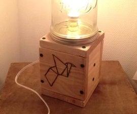 Mason Jar Edison Lamp
