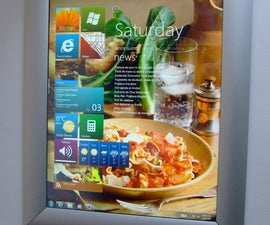Wall-mounted Kitchen PC