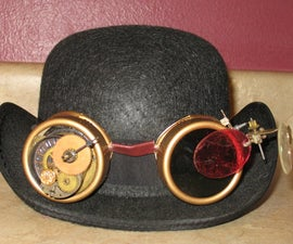 Leather & Cogs - Steampunk Goggles!
