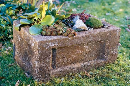 How to Make a Garden Trough Hypertufa Planter 9 Steps with