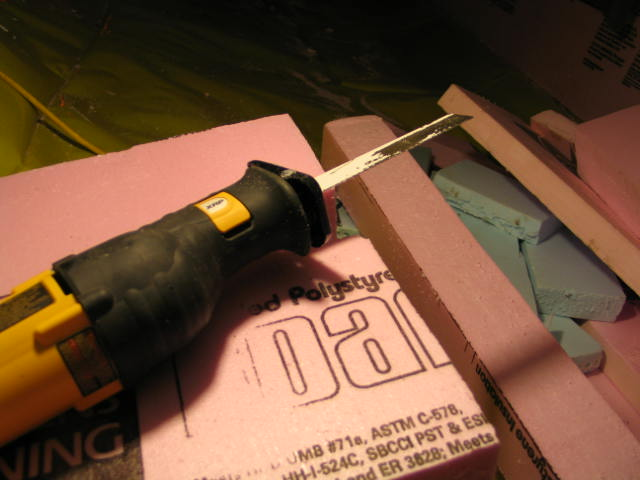 Picture of Measuring and Cutting Rigid Insulation