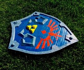 Cardboard Hylian Shield