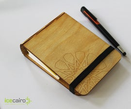 icecairo's Laser-cut Notebook Cover with Islamic Patterns