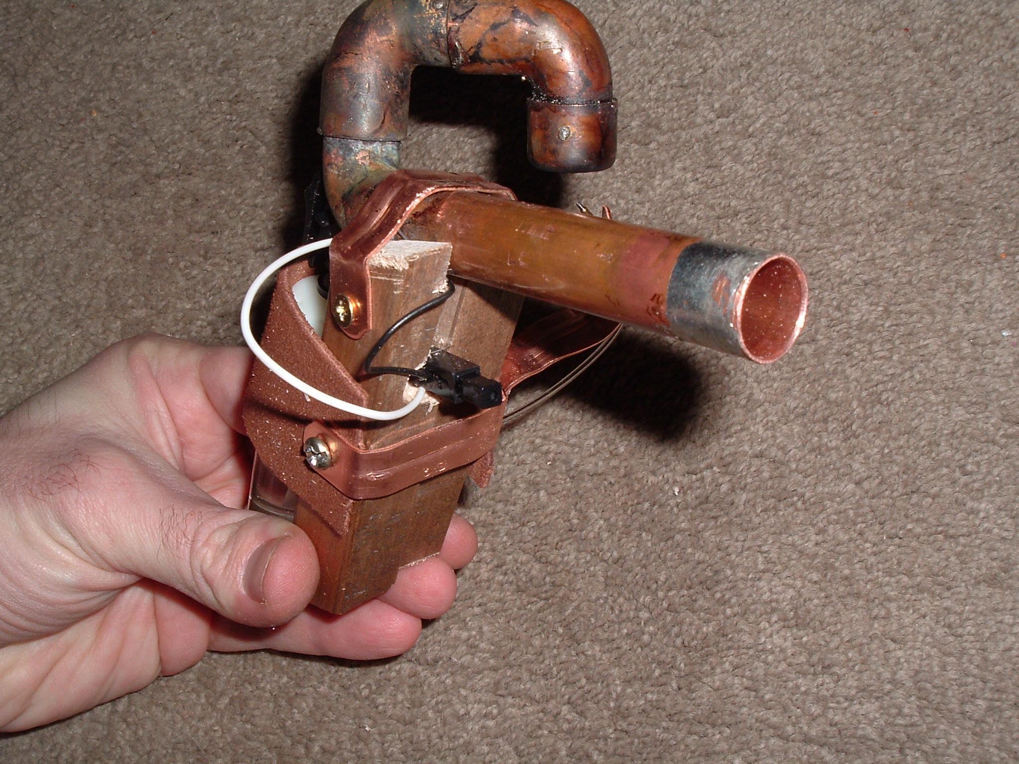 Picture of Steam Powered Potato Pistol 1.0