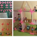 Recycled CD Cases: Doll's House // Toy Shelves