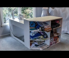 How to Make a Sewing Table / Craft Table