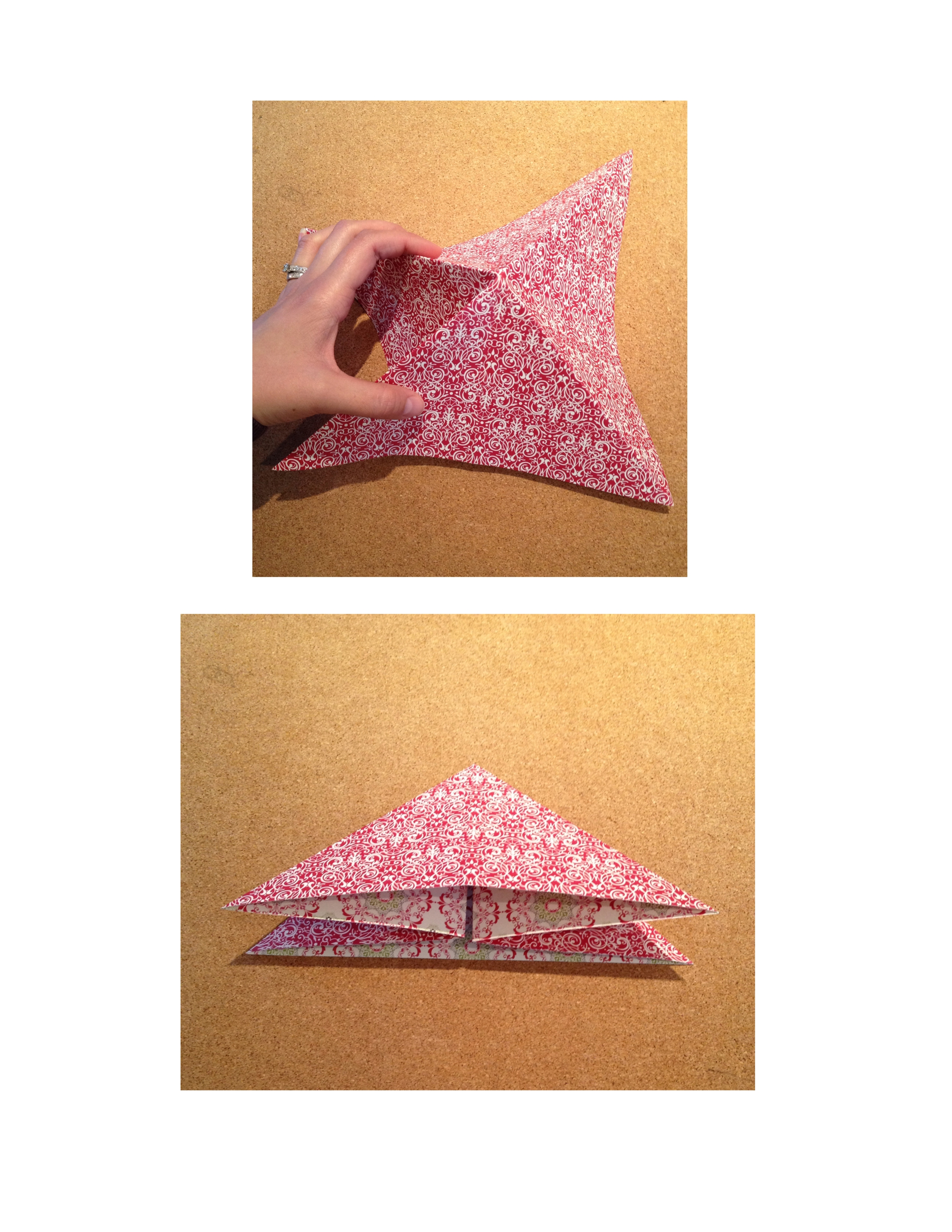 Picture of Fold to a Triangle...