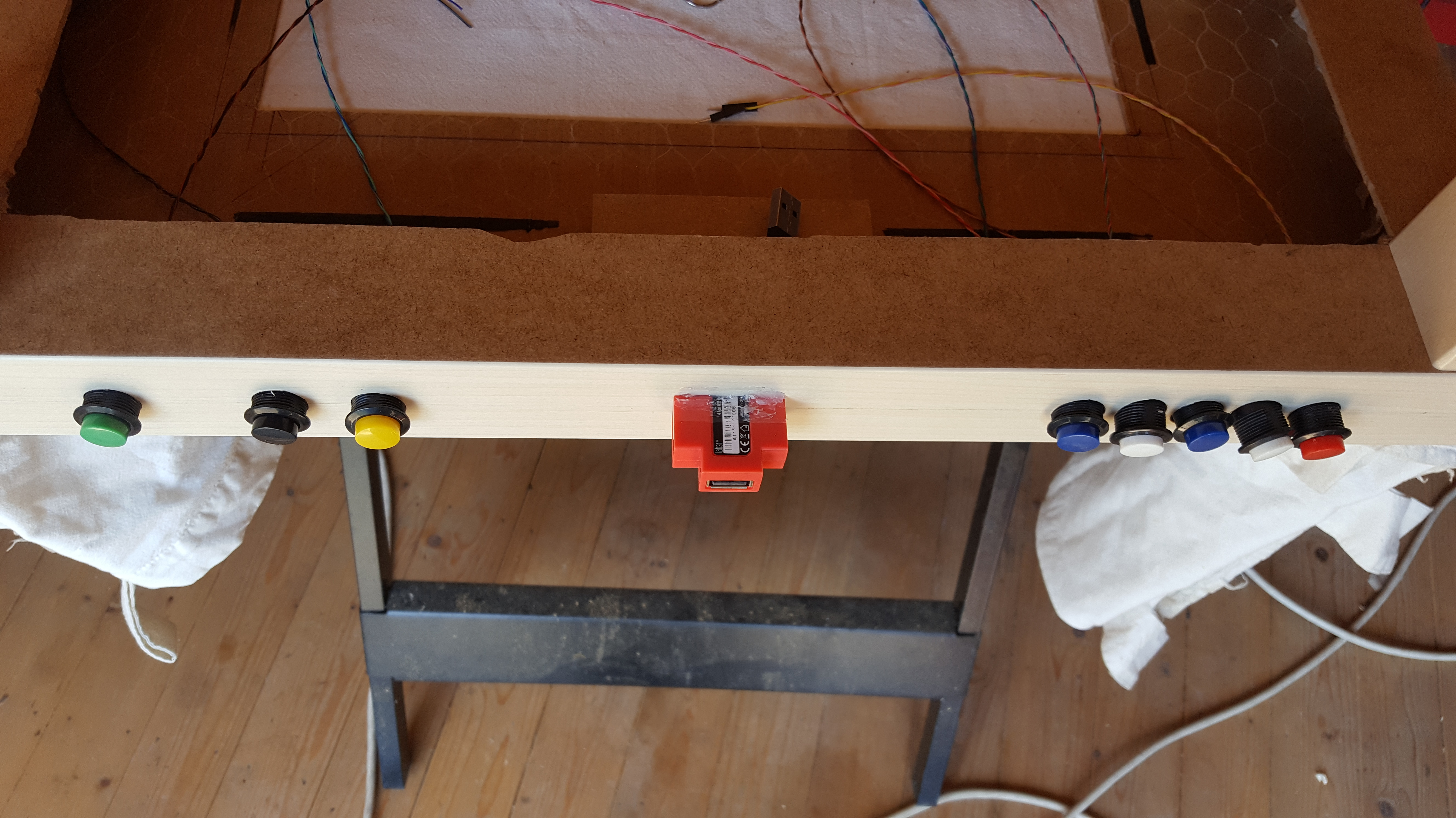 Picture of Add Buttons and Usb Ports to Your Table