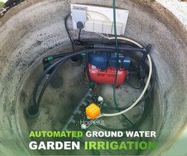 Automated Ground Water Garden Irrigation
