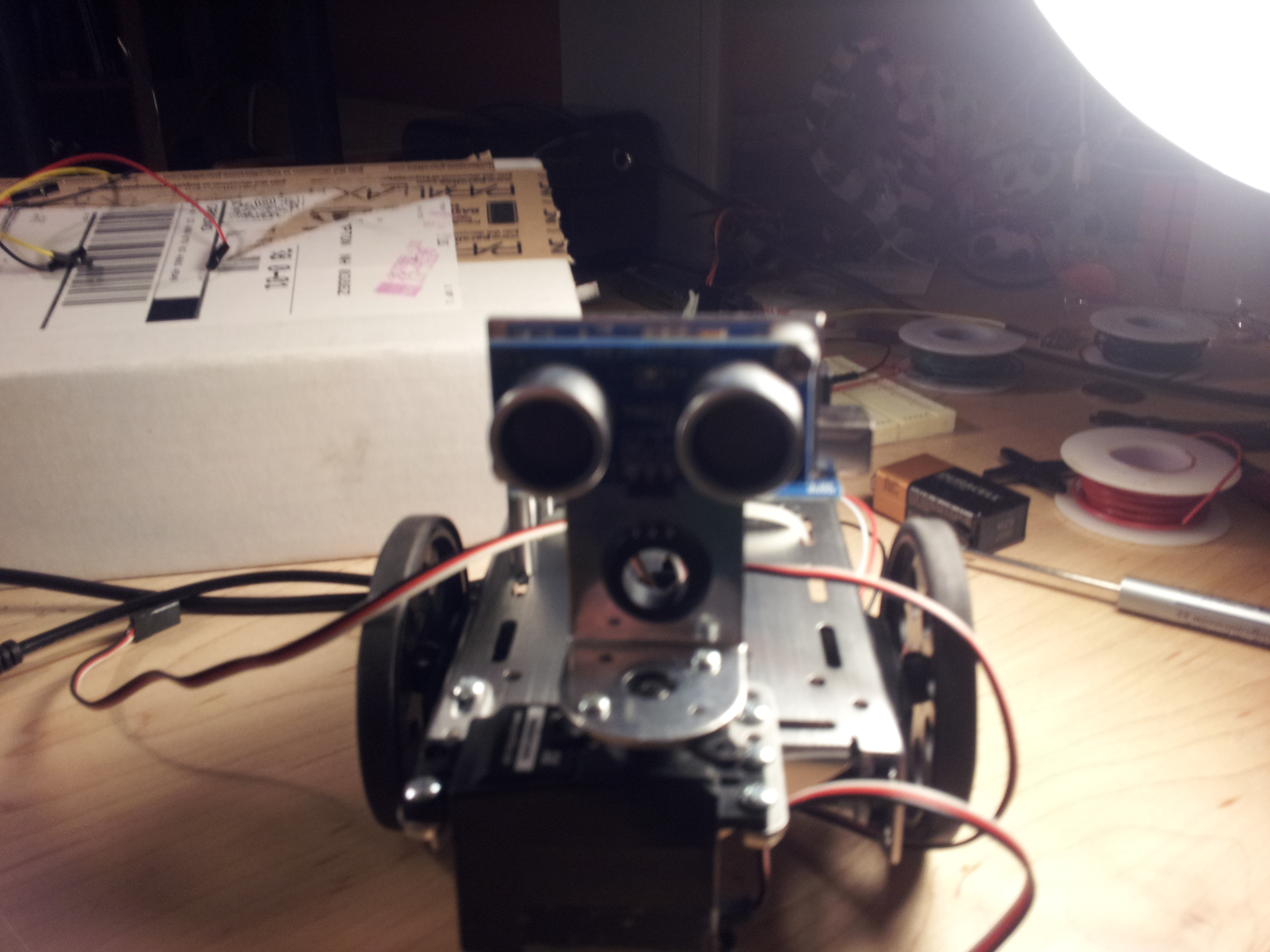 Picture of De-blinding the Robot
