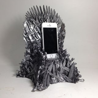 The Throne Dock for Your IPhone and Other Mobile Devices