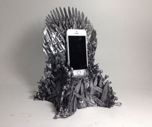 The 10 Inch Iron Throne Phone Dock Aka Forbidden Throne Revenge