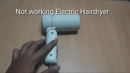 Empty Up the Hairdryer!