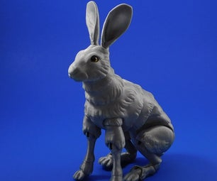 The Fabled Hare (a 3D Printable Ball-jointed Doll)