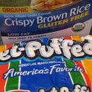 Brown Puffed Rice Treats (aka Rice Krispies Treats)