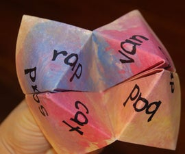 How to make and use a Cootie Catcher for Reading