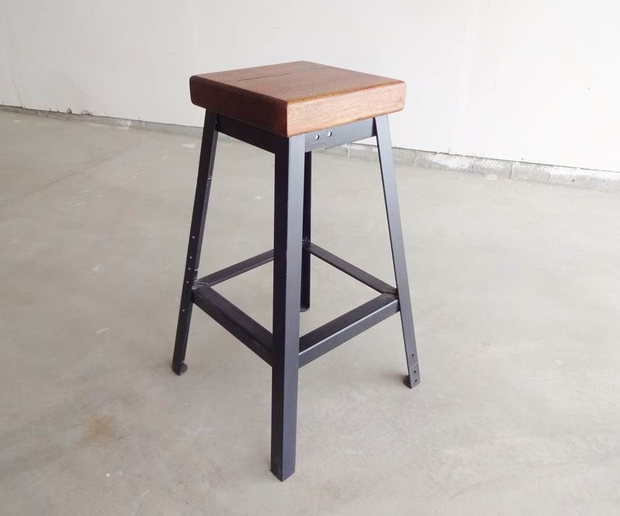 Make a Simple Welded Bar Stool: 11 Steps (with Pictures) Homemade Welded Implement Plans on homemade titanium, homemade saw, homemade plastic, homemade storage,