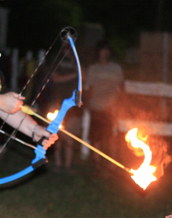 Creating a Flaming Arrow That Works: UPDATED 2013
