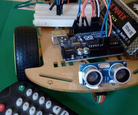 Remote Controlled Car Using Arduino With Obstacle Avoiding