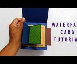 DIY Waterfall Card