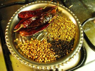 Preparation of Spice Powder Step 1