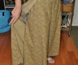 How to make wrap pants