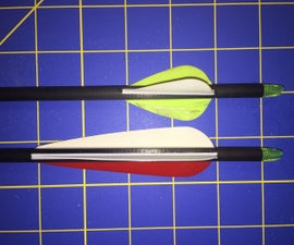 Refletching a Cheap Carbon Arrow