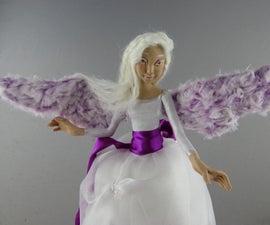 Christmas Tree Angel Topper