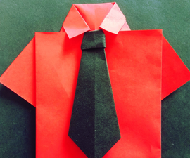 Origiami T-shirt and Tie