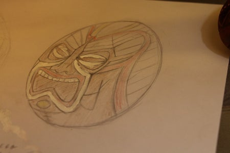 make a Sketch to Prepare Your Self Where You Will Want to Carve