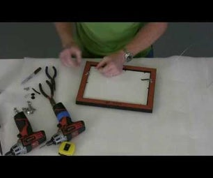 Fit Artwork Into Wood Frame - Part 2