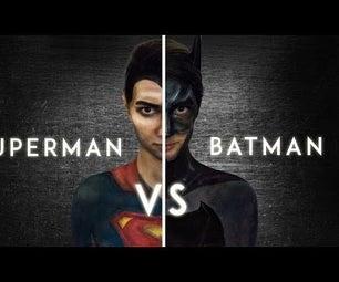 Batman V Superman Makeup Tutorial