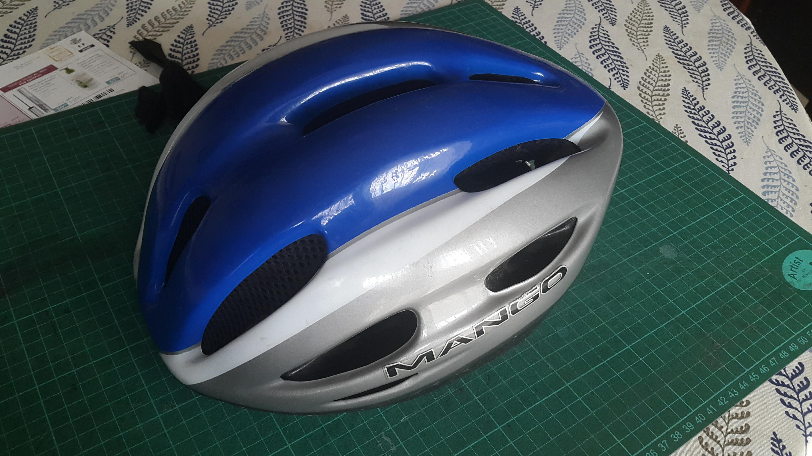Picture of Replace Padding Inside a Bicycle Helmet
