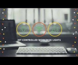 Desktop Controlled Workdesk Lights