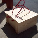 Wooden Crate with Lid