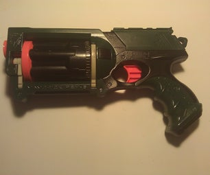 Paint a nerf gun (n-strike Maverick)