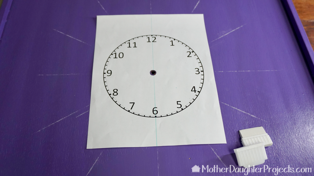 Picture of Paint and Add Clock Face