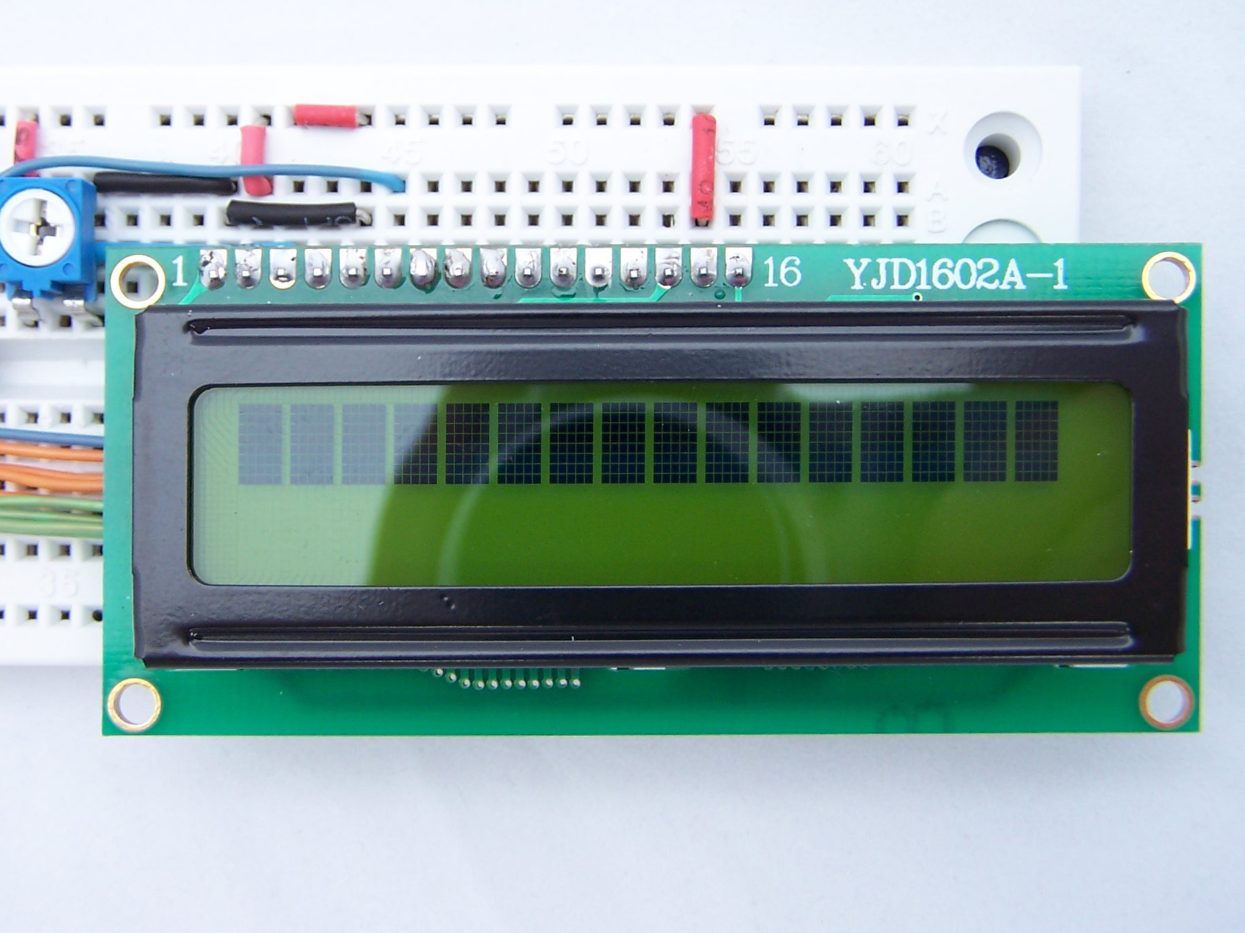 Picture of Adding the LCD Module