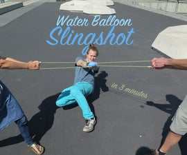 Water Balloon Slingshot (in 3 Minutes)
