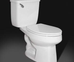 April Fool Toilet