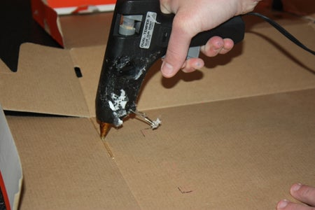 Gluing the Side Pannels